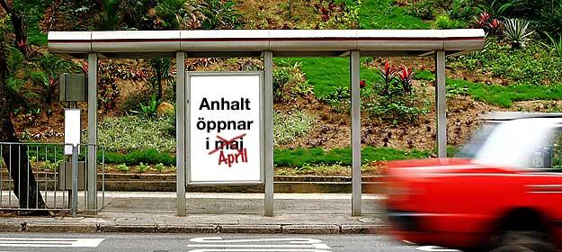 Ändring - Anhalt öppnar i april